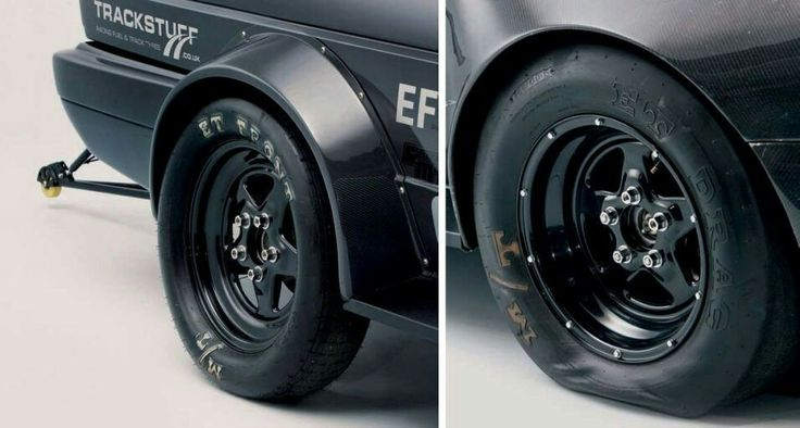 Black Weld wheels with contrasting lugs