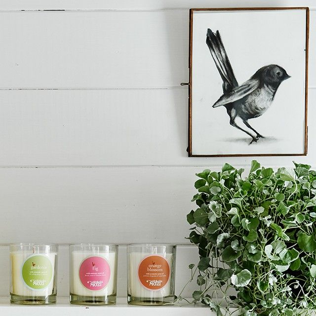 Wander through the Secret Garden, MOZI's signature range features three delightful fragrances Fig, Gardenia & Orange Blossom.