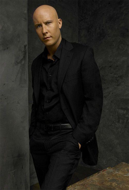 Michael Rosenbaum as Lex Luthor on Smallville.