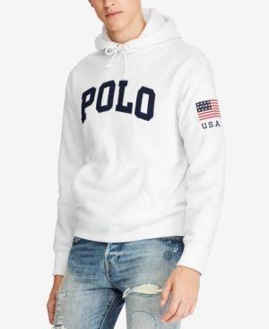 POLO RALPH LAUREN MEN S GRAPHIC-PRINT FLEECE HOODIE.  poloralphlauren   cloth   4c150cbfba