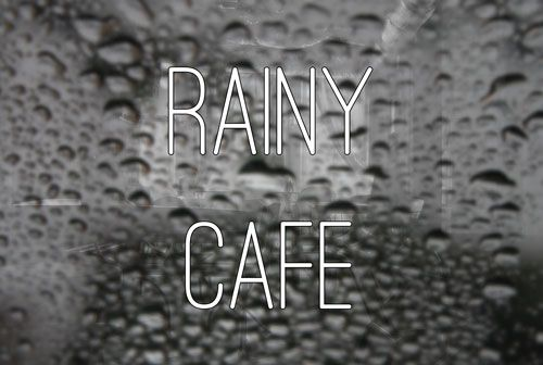 Enjoy background white noise to improve your creativity. Choose between rain, a cafe, or combine them for a rainy cafe.
