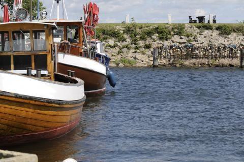 Fischerboote auf #Ummanz Foto: maunzel / Fotolia #meckpomm #rügen #urlaub #ostsee #insel