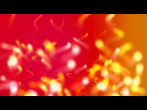 Red fire particles - HD animated background #52