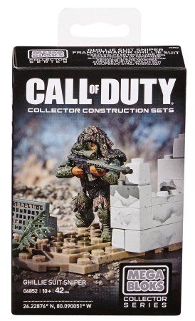 Mega Bloks Call of Duty Ghillie Suit Sniper - Lego CoD themed aquarium