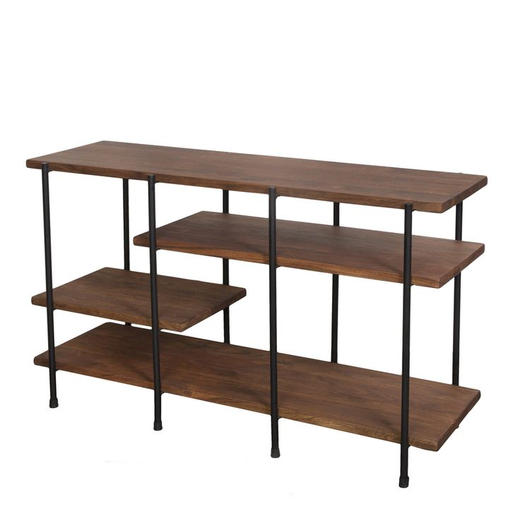 The Verde Multi-Level Console Table from LH Imports is a unique home decor item. LH Imports Site carries a variety of Verde items.
