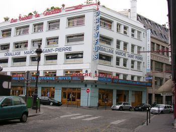Marche Saint-Pierre  2 rue Charles Nodier 75018, Paris  Metro: line 12: Abbesses/ line 2:  Anvers