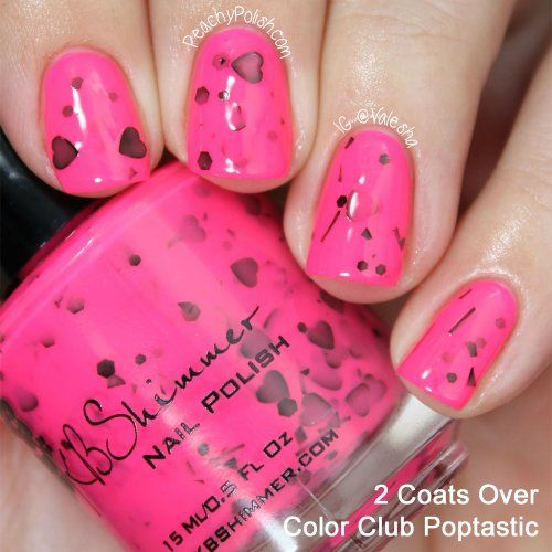 25+ Best Ideas About Neon Pink Nail Polish On Pinterest