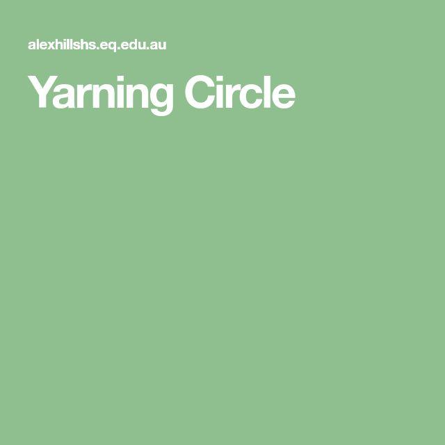 Yarning Circle