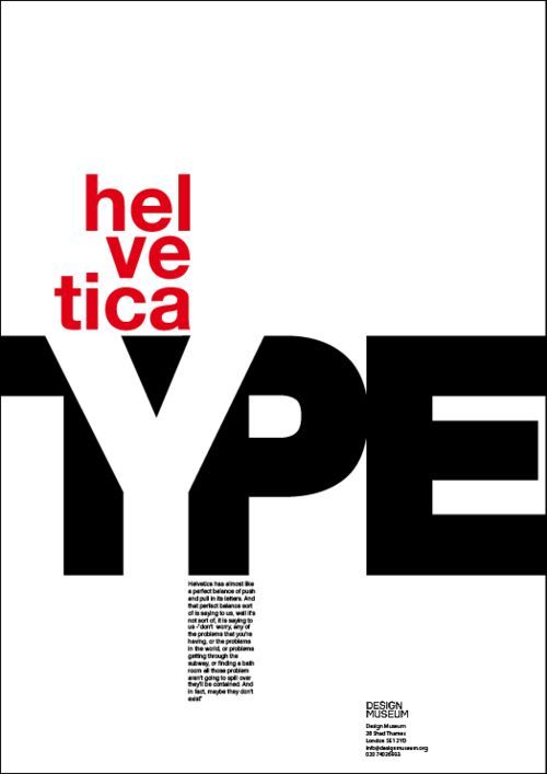 Image result for type color posters helvetica