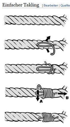 DIY-Anleitung für ein Halsband und Leine aus Tauwerk. Der absolute Trend unter … – conchita