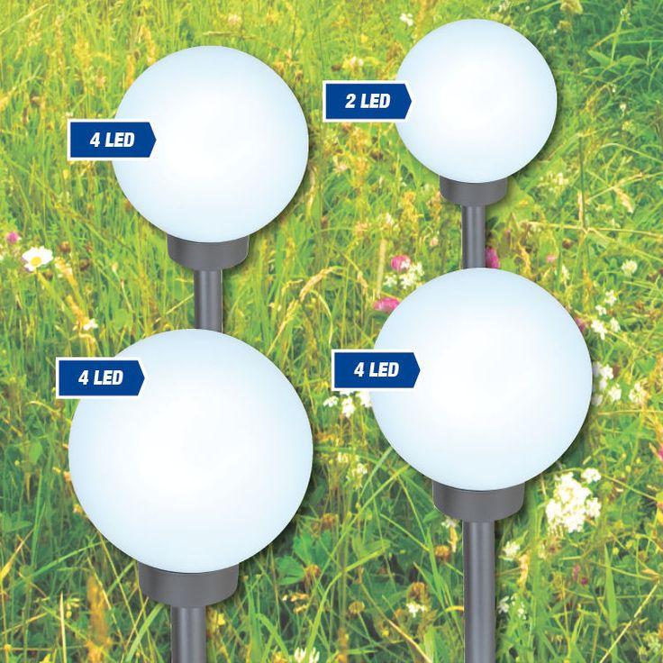 Leuchtkugel Solar 15,20,25 oder 30cm Garten Leuchte Außenleuchte LED Solar Lampe
