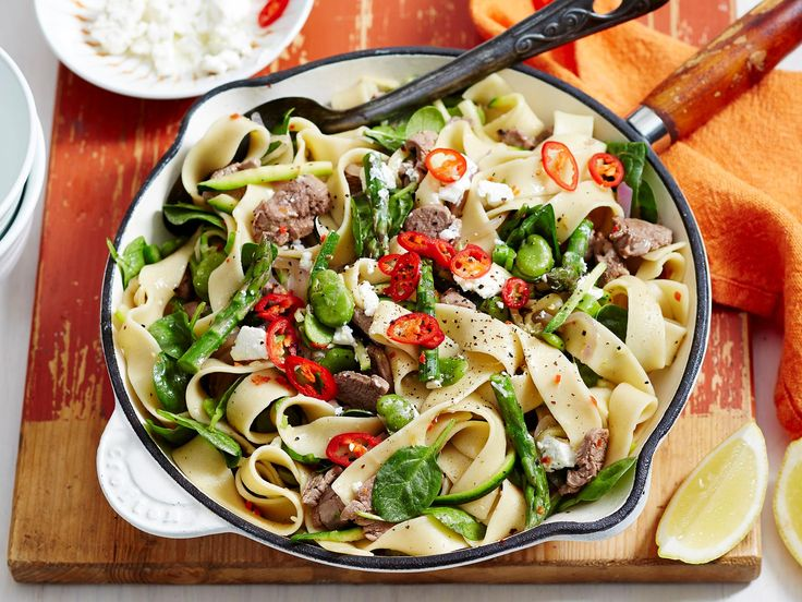 For a filling meal that's bound to please, look no further than this easy pasta dish. It's packed full of veggies, helping you to hit your daily intake, plus it's diabetic-friendly, perfect to feed the whole family.