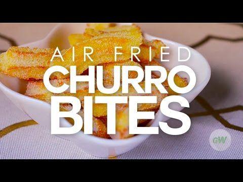 Wist je dat je Churros ook in de Airfryer kunt maken? En wel op deze manier.