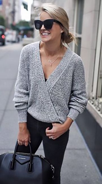 c61f270947 27 Grey Outfits to Keep You Warm this Winter