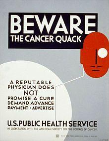 Alternative cancer treatments - Wikipedia, the free encyclopedia