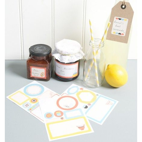 Kitchen Labels ( - Busy B