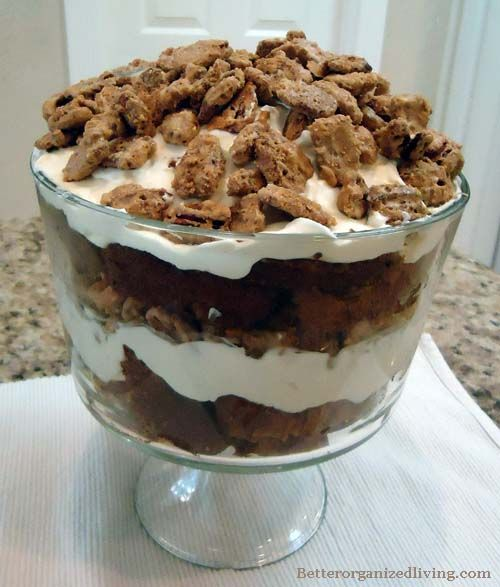 ... on Pinterest | Red velvet trifle, Pumpkin trifle and Brownie trifle