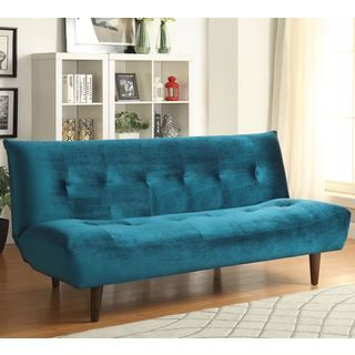 Epic Shop for Tufted Design Convertible Sofa Bed with Wood Legs Get free shipping at Overstock