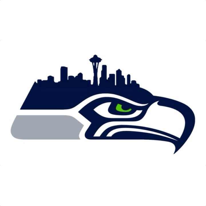 Seahawk Skyline My City Pinterest Logos Seattle