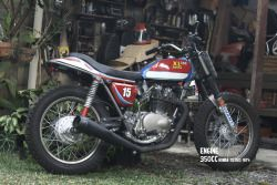 Champion-Honda XL350 Astrodome replica attributed by Don Miller
