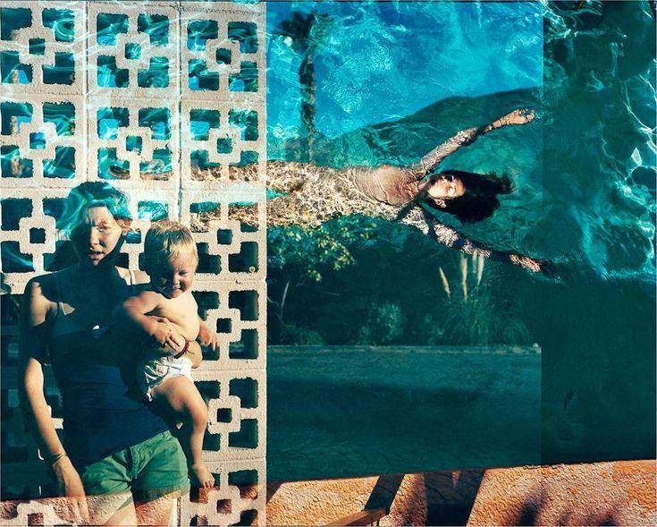 """Explosure"" - Tierney Gearon. A surreal life with double-exposures."
