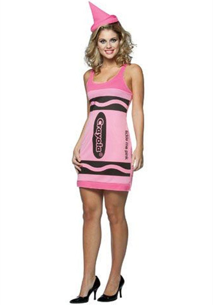 Crayola Tickled Pink Crayon Costume, Funny Fancy Dress - Funny Costumes at Escapade™ UK - Escapade Fancy Dress on Twitter: @Escapade_UK