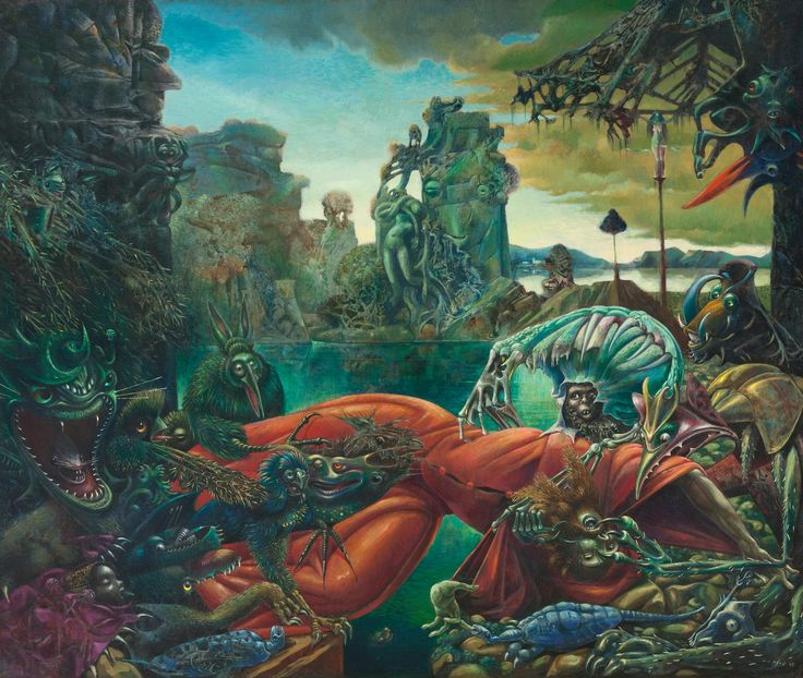 Max Ernst A Legend Of Disorder  Lazer Horse