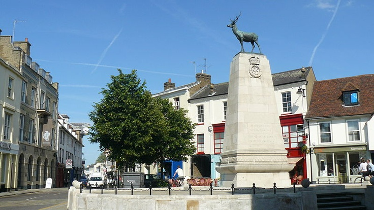 Parliament Square, Hertford Town Centre