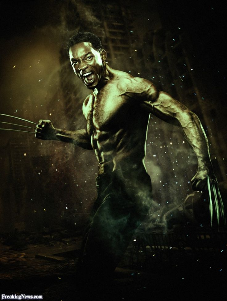 Will Smith as Wolverine