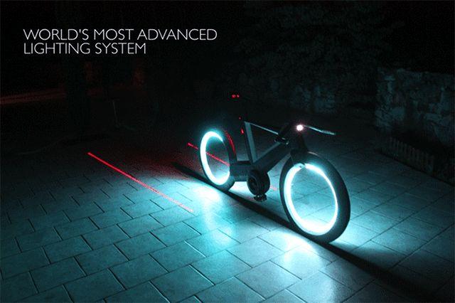 Технологии будущего: футуристический велосипед Cyclotron (фото 3)