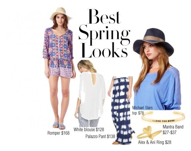 Spring Looks by jennifer-johnson-bianco on Polyvore featuring Michael Stars, Splendid, Alex and Ani and H&M