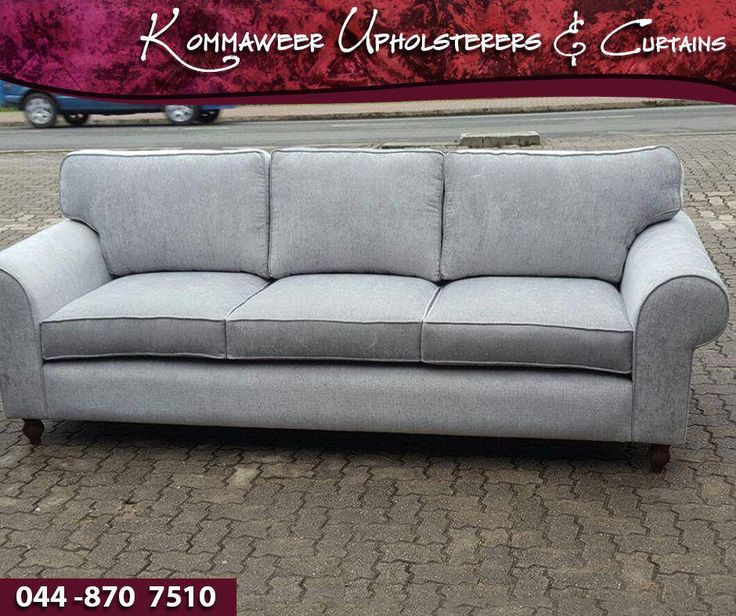 Another successful project done! This couch is custom built by Godfried and upholstered by the #Kommaweer team. We can assist with the upholstering of your furniture, contact us on 044 870 7510 for more information. #upholstery — with Monica Rheeder, Mariana Rheeder, Godfried Rheeder, Godfried Rheeder and Marizaan Rheeder.