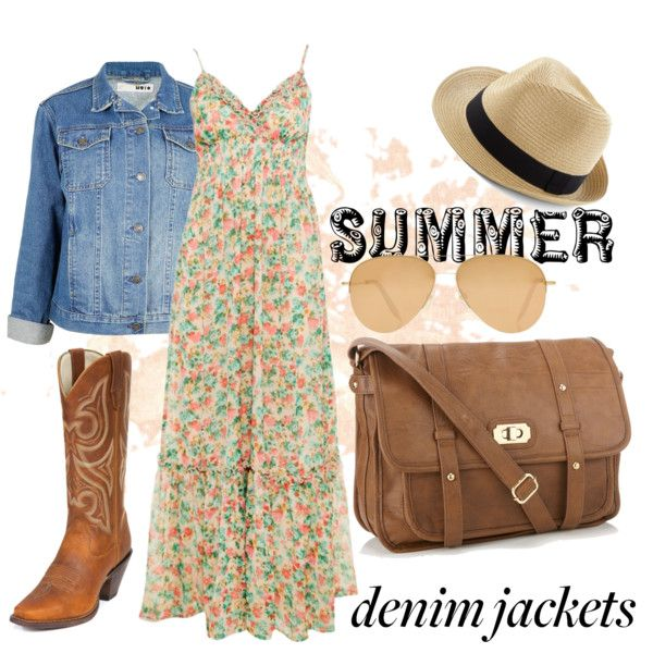 """Demonstrate Your Denim Jacket Style"" by flirtwithdurango on Polyvore"