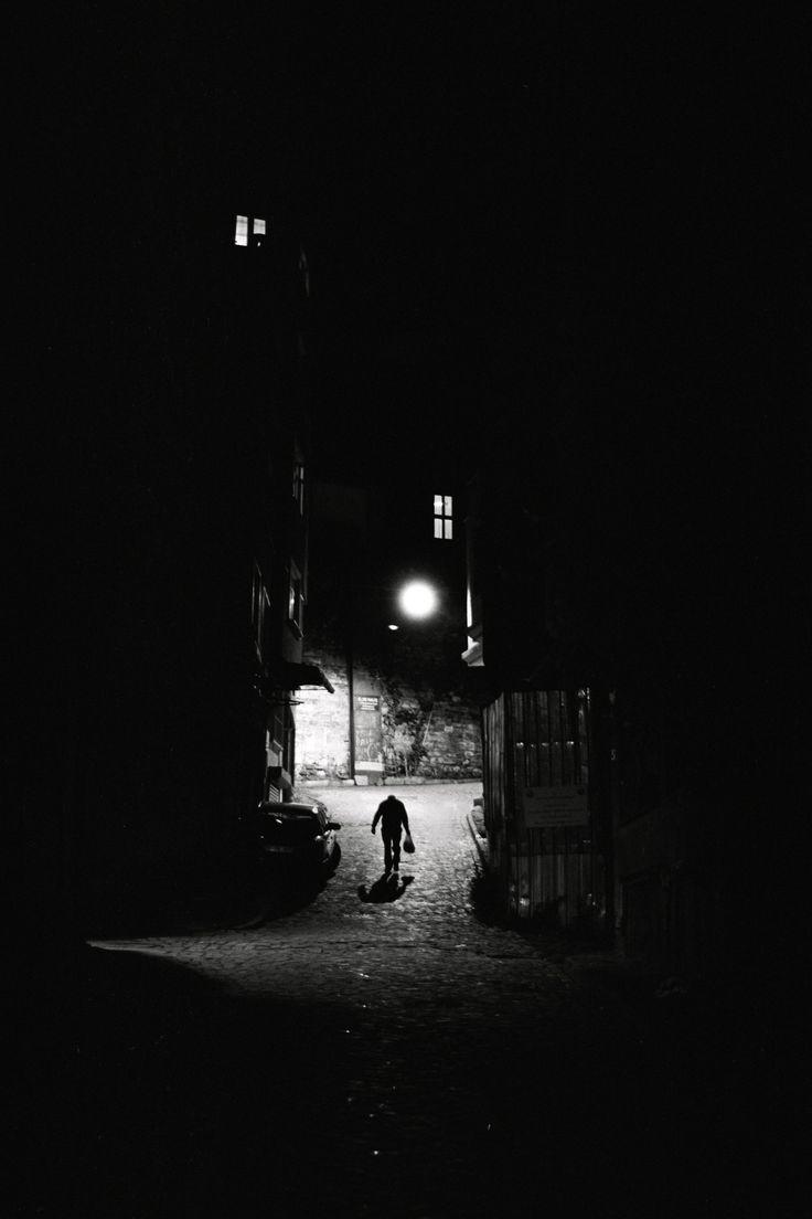 Man of Night - Nikon F75 Nikon 50mm f1.8D Fujifilm Neopan 100SS @ 200 Kodak Xtol