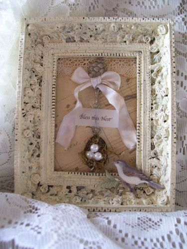 Shabby chic craft ideas craft ideas shabby chic crafts for Tableau style shabby chic