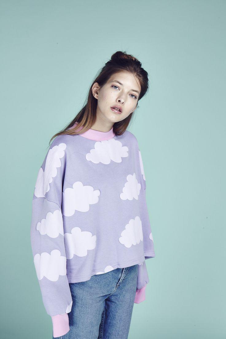 Lazy Oaf Fluffy Cloud Sweatshirt  http://www.lazyoaf.com/lazy-oaf-fluffy-cloud-sweatshirt
