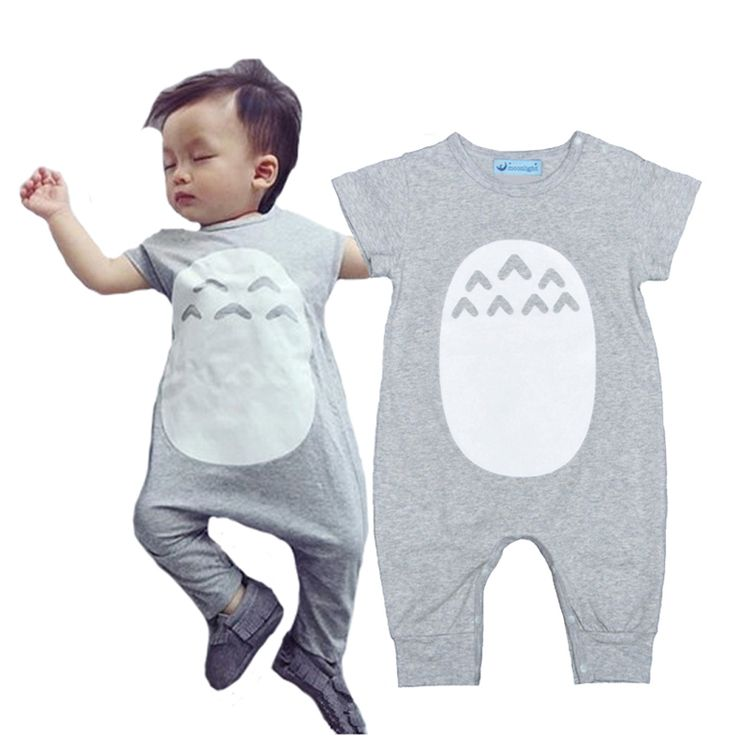 Totoro Baby Girls Boys Romper Jumpsuit Cartoon