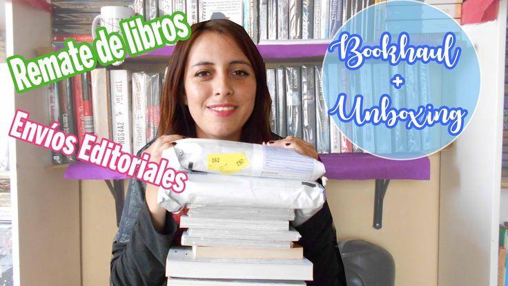 BookHaul Remate de libros + Unboxing doble ¡Hola! Recién fue el remate de libros y estoy muy contenta con mis compras, además ¡me llegaron dos paquetes, hay que abrirlos!   https://youtu.be/md1MUhn9YJc