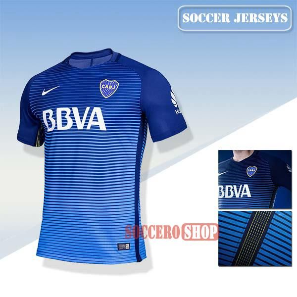 61533b1a8 Good Boca Juniors New Third Soccer Jerseys 2017 2018 Replica Personalised  Printing   Soccero-Shop   Clubs Soccer Jerseys 2017-2018   Football shirts,  ...