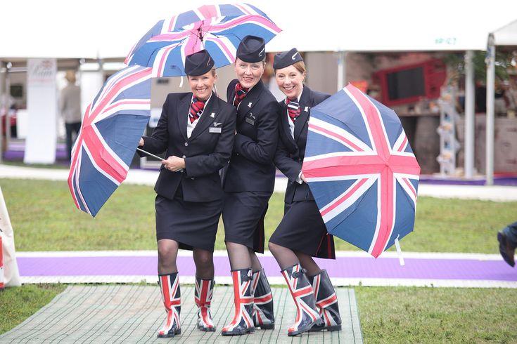 British airways flies the flag!