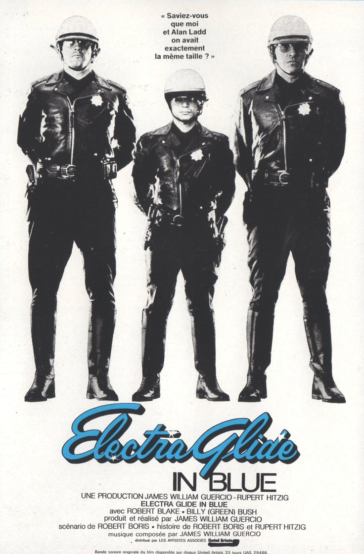 Electra Glide In Blue  1973  James William Guercio And Thats The Bottom Line: The 70s - Cinema Decor For Home