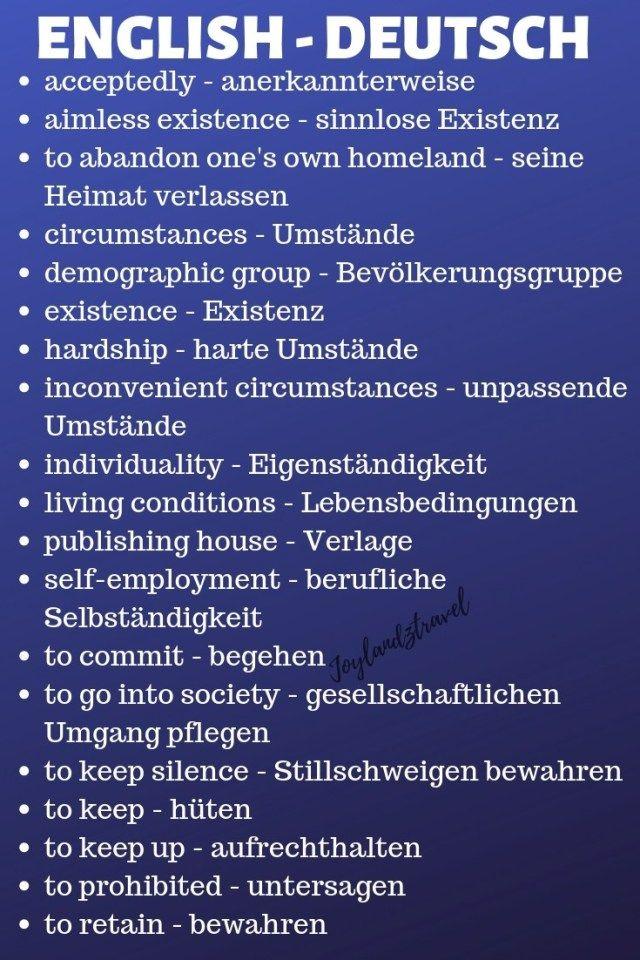 Language in german – Aishwarya Shah