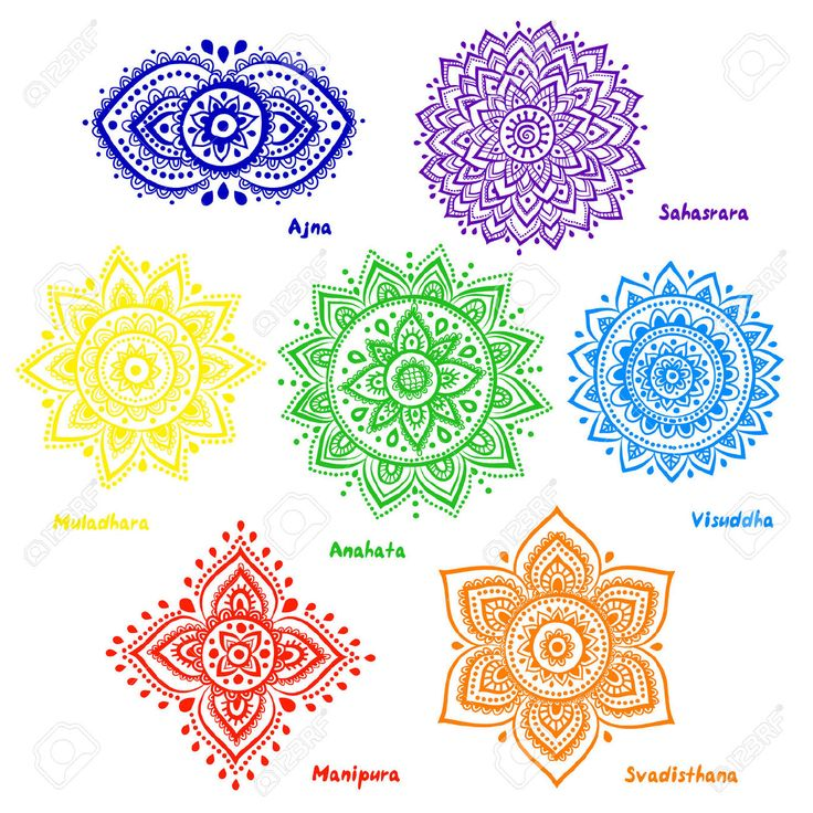 chakra mandala printable coloring pages - photo#41