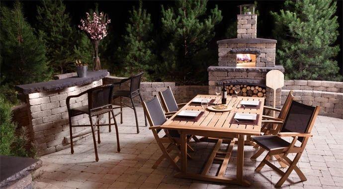 Harvest Grove Outdoor Kitchen: Pizza Oven | barkman | barkman