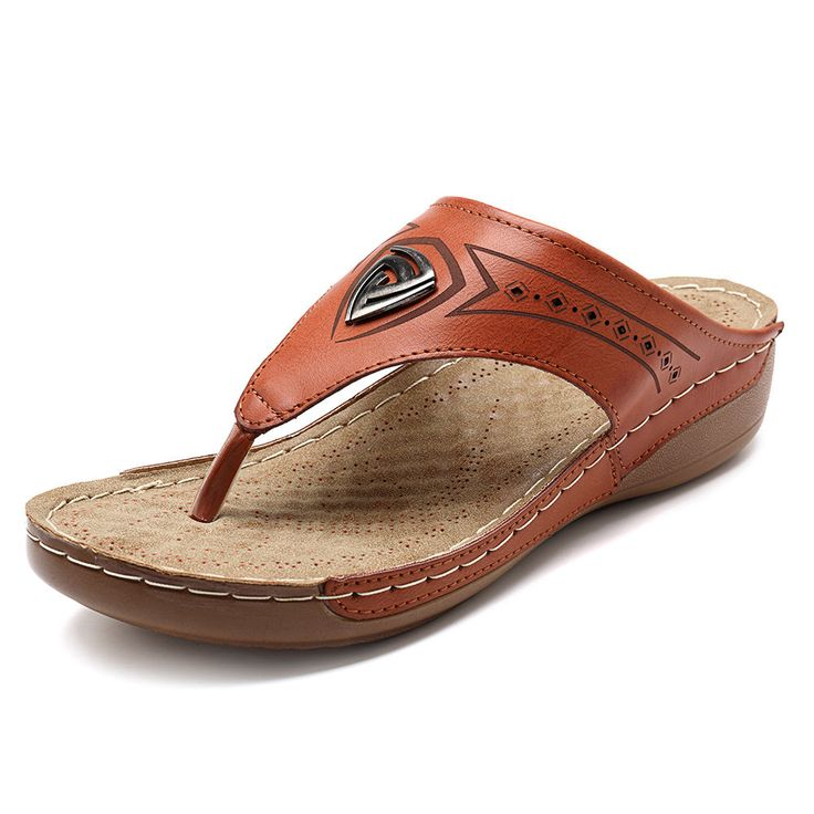 Casual Beach Hollow Out Soft Flip Flops Flat Slippers For Women Online – NewChic