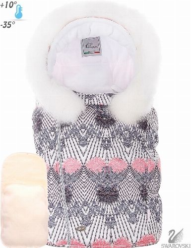 stroller bunting and footmuff FANTASY. Shop. Designer baby brand ! Pilguni.com online superstore.Магазин. Дизайнерская одежда для детей ибеременных женщин розничной продажи! Pilguni.com интернет магазин.Конверт для новорожденных 2017-2018
