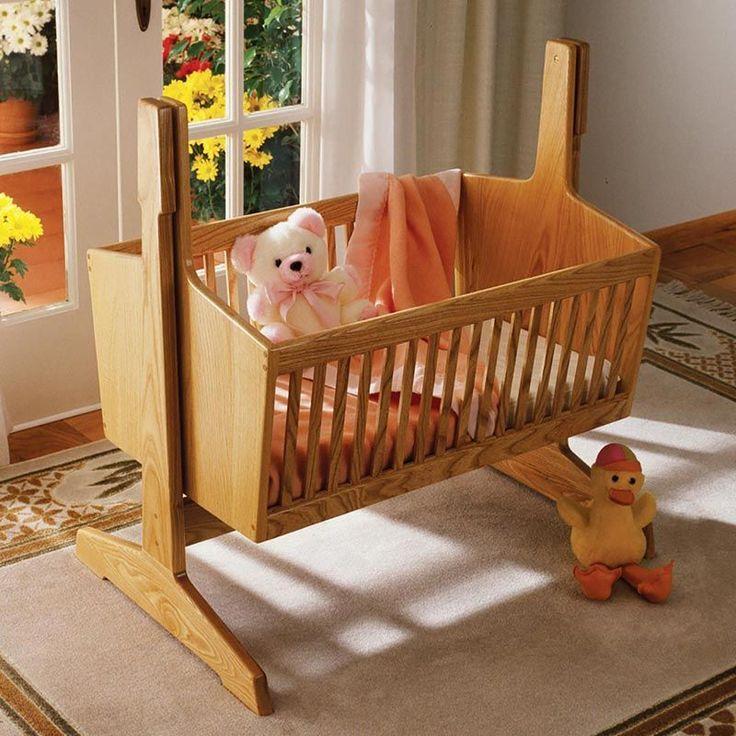 Pendulum Cradle Woodworking Plan from WOOD Magazine #woodworkingprojects #woodworkingplans