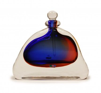 Unique glass perfume bottle unique blown glass perfume for Unique glass bottles
