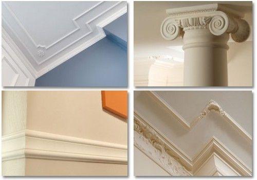Polystyrenové stropní desky, dekorace a ozdobné prvky