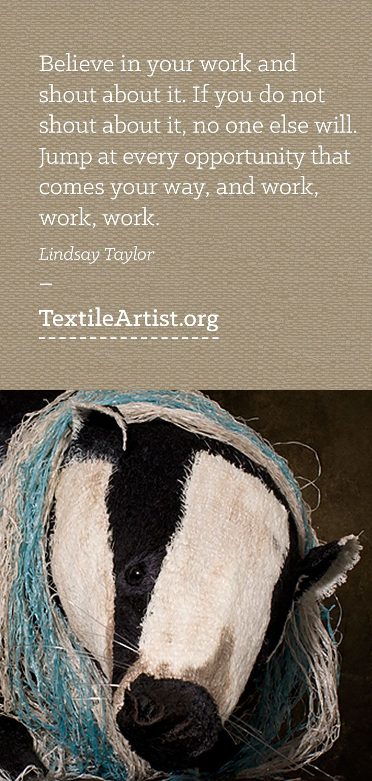 Lindsay Taylor interview: 3D textile art